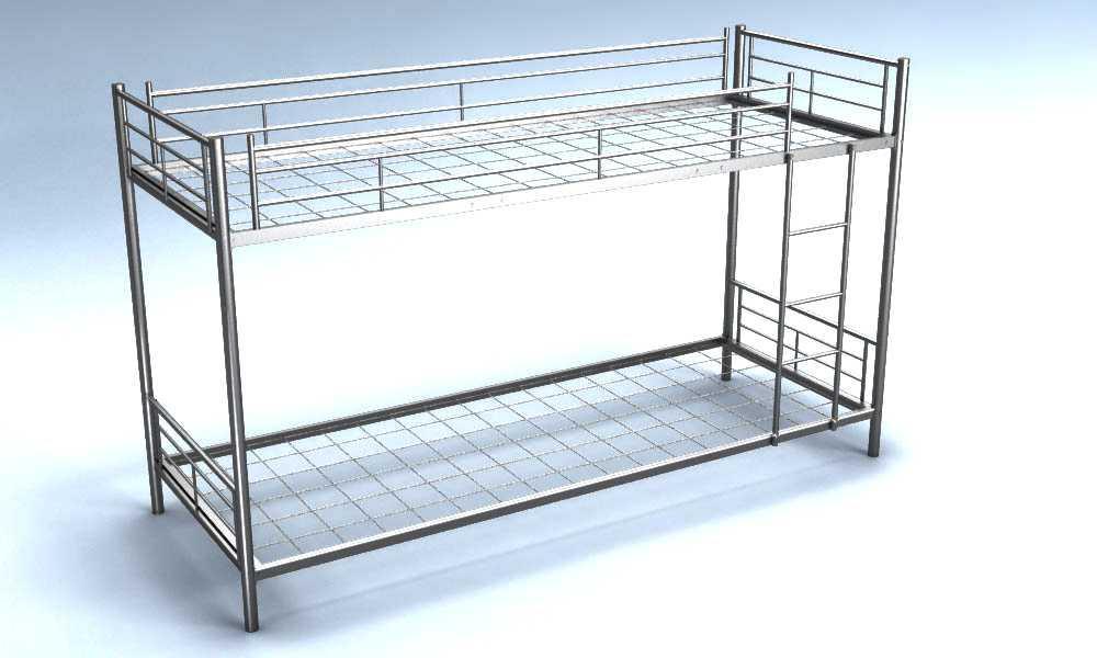 Как сделать двухъярусную кровать своими руками из металла
