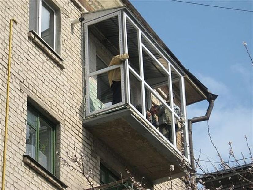 Отделка балконов и лоджий в туле.