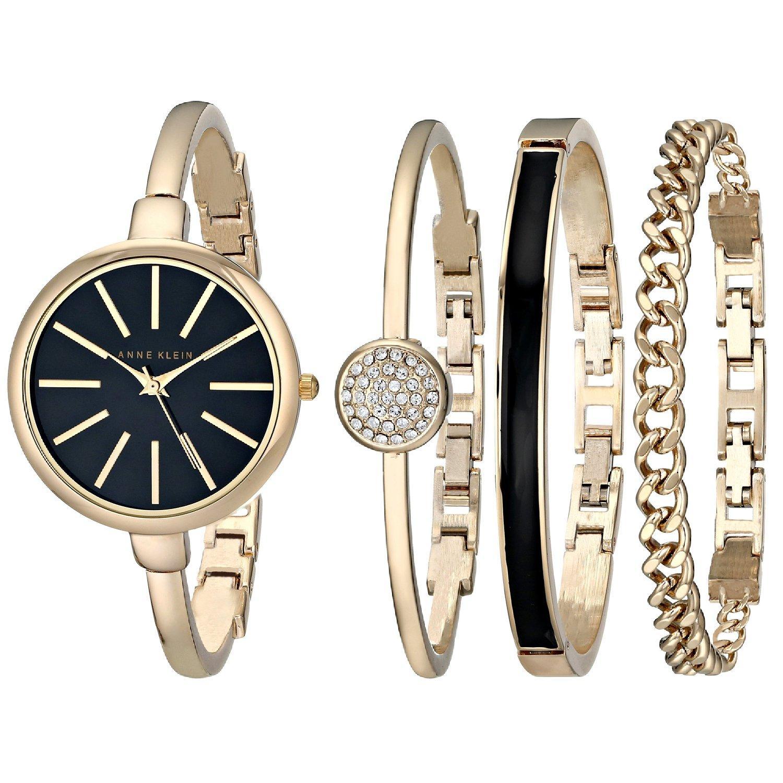 часы anne klein с браслетами женские купить в екатеринбурге если