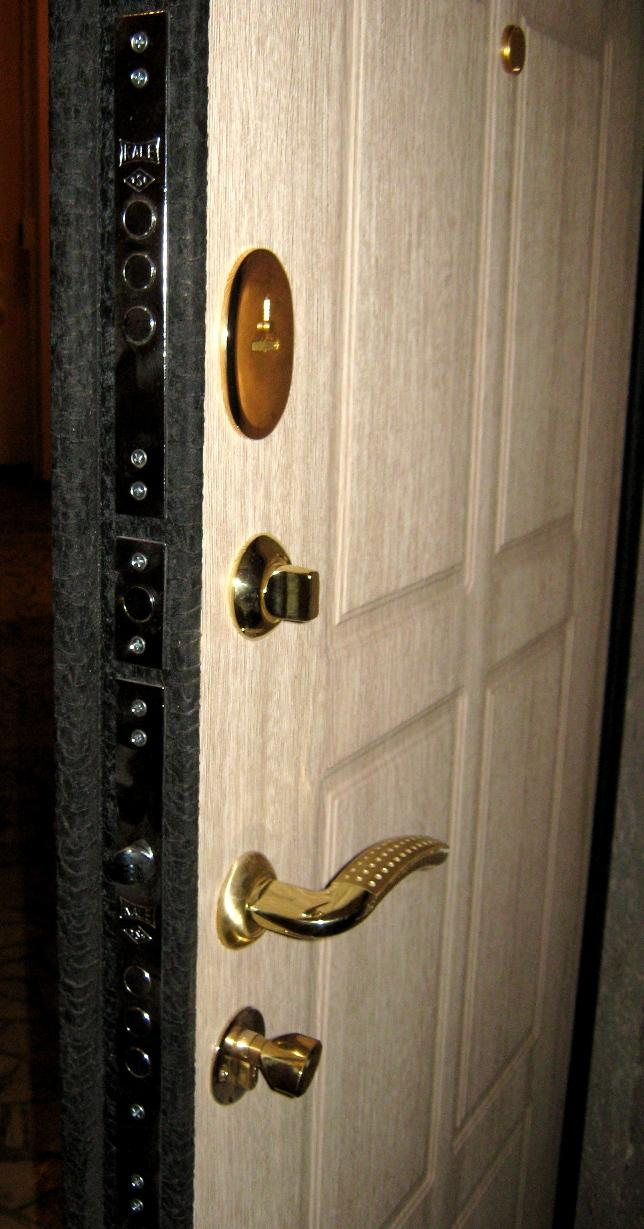 Клин двери железные