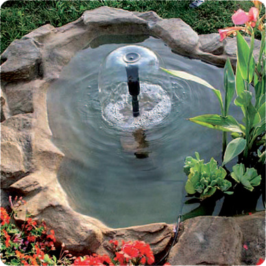 Садовые фонтаны для дачи