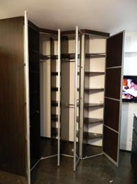 Распашной шкаф по любым размерам в рассрочку n54.
