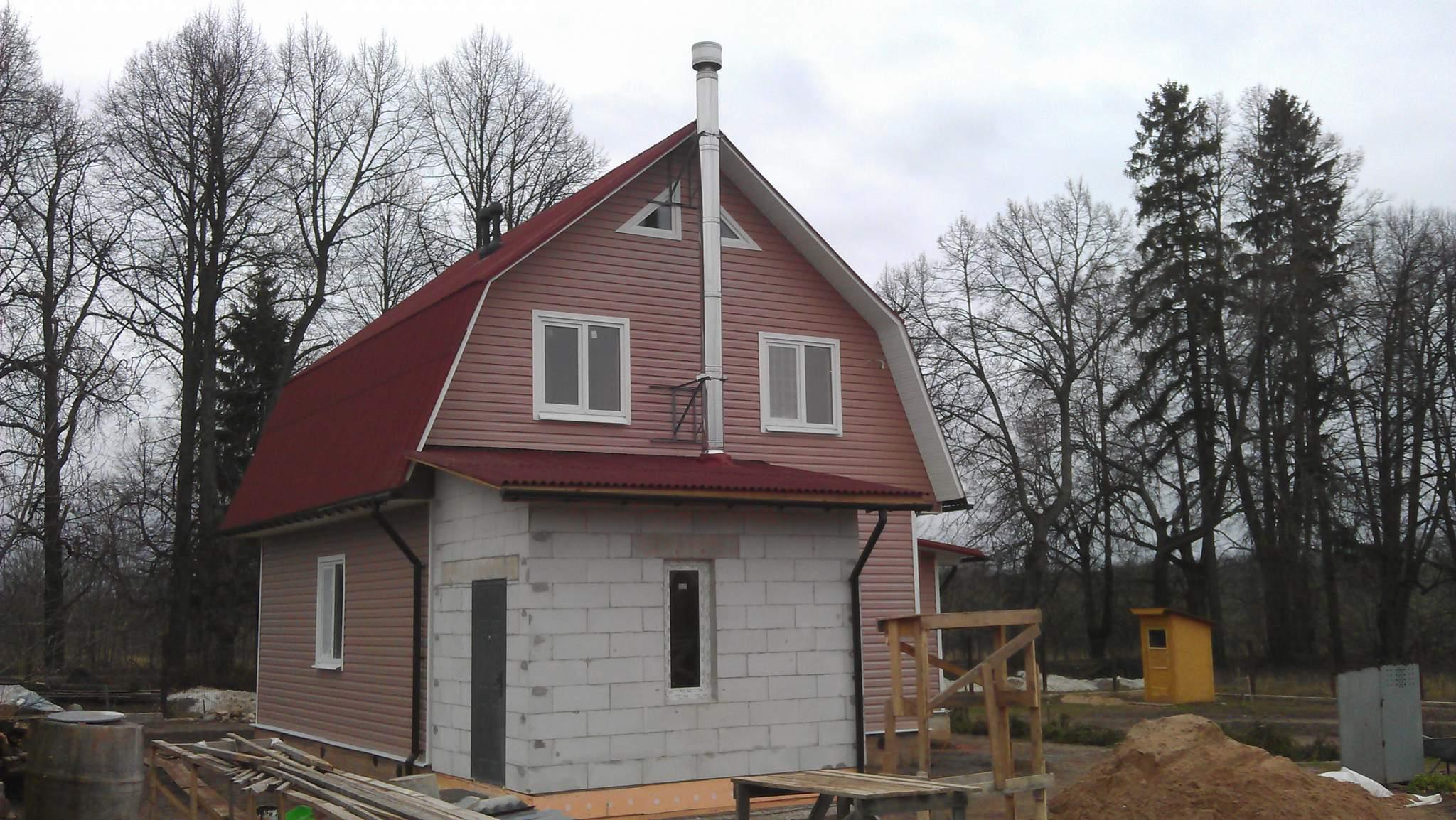 фото, котельная из блоков для частного дома