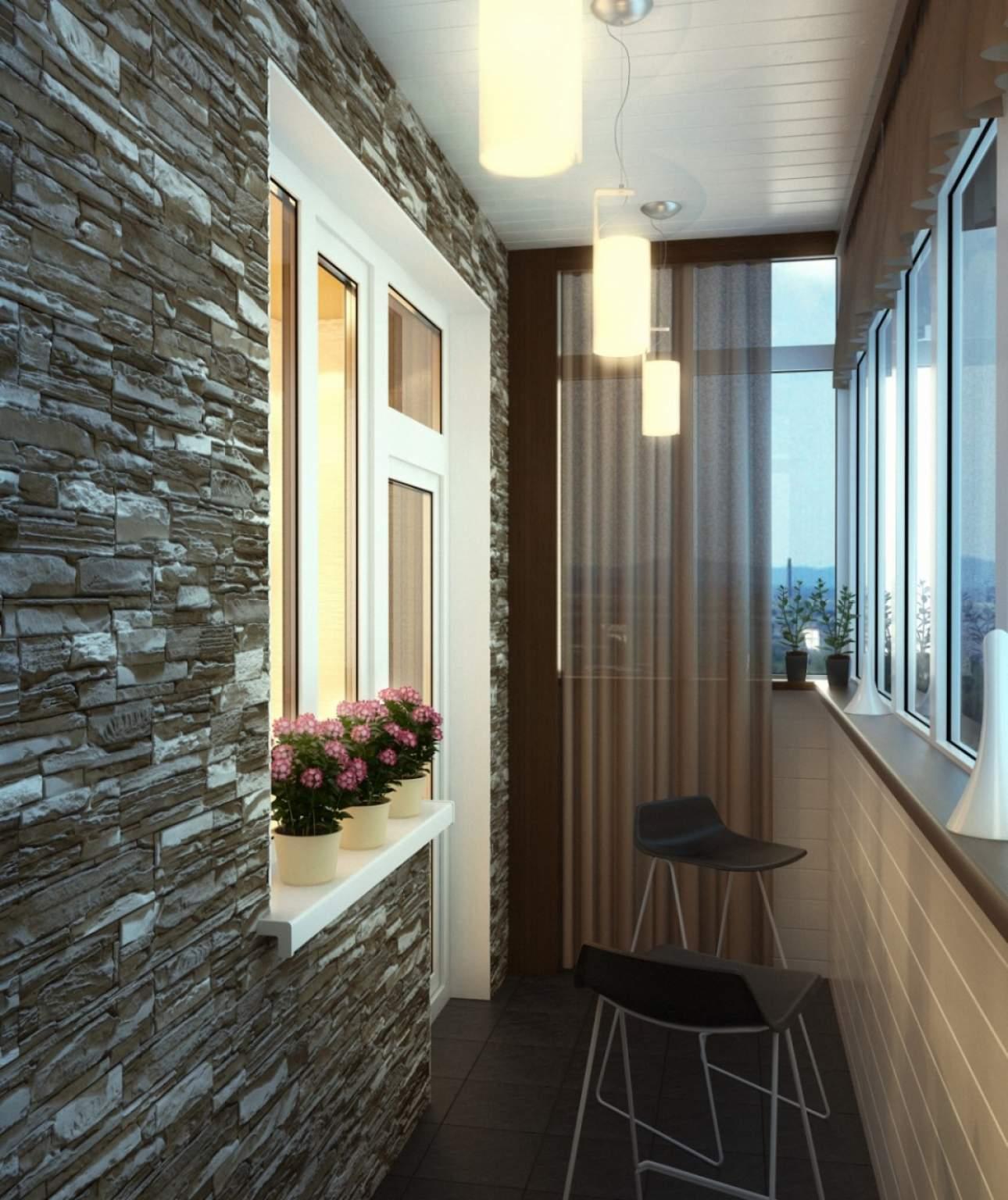Дизайн балкона фото квартир