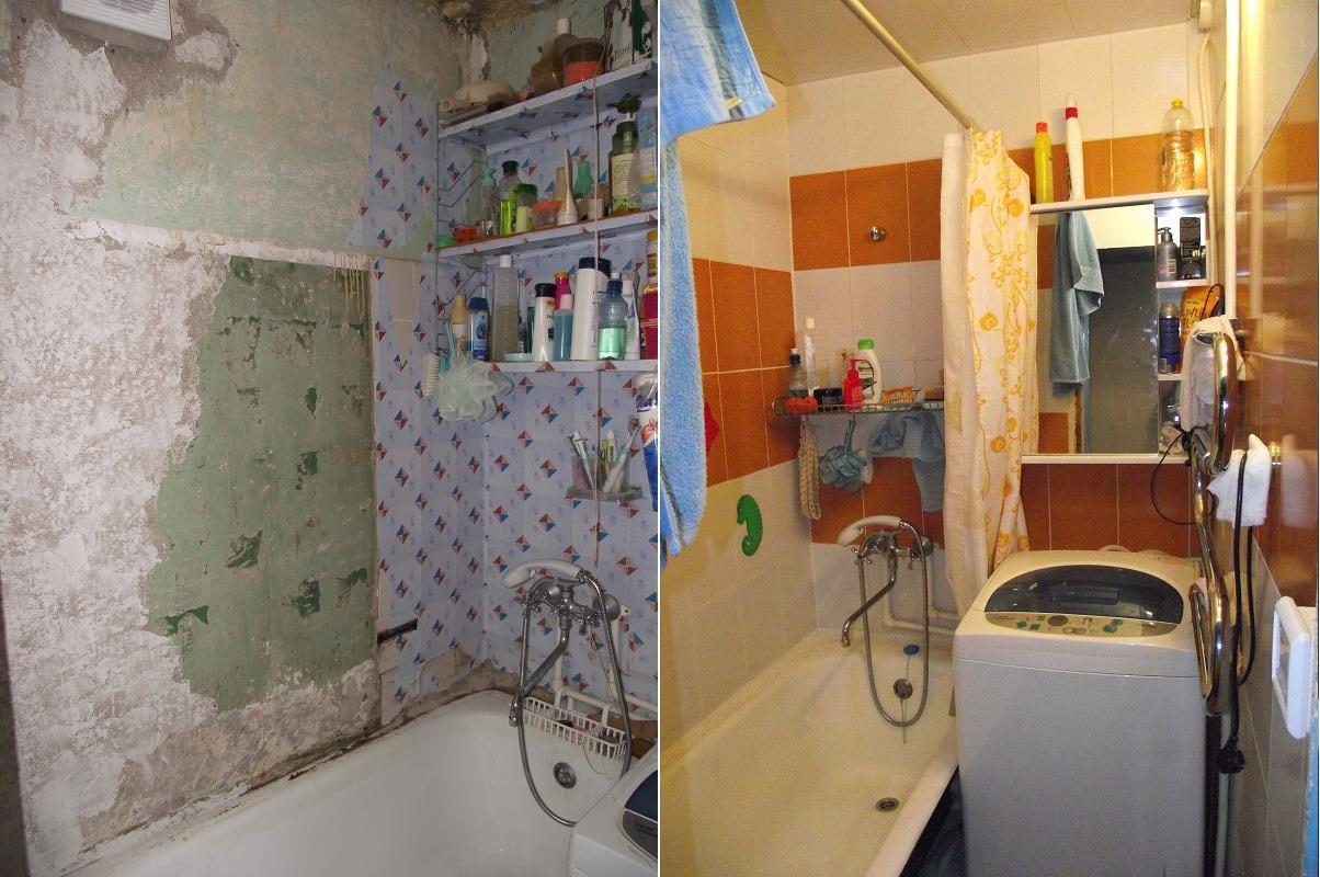 Ремонт ванных комнат своими руками с