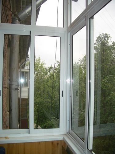 Материалы для ванной - остекление балконов.