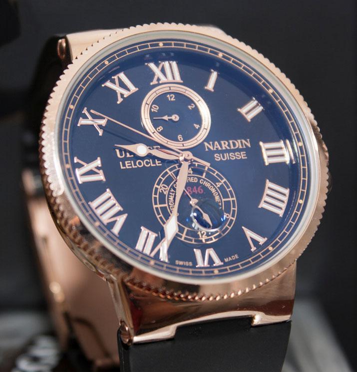 Существуют более дешевые часы ulysse nardin модель мужская — marine.
