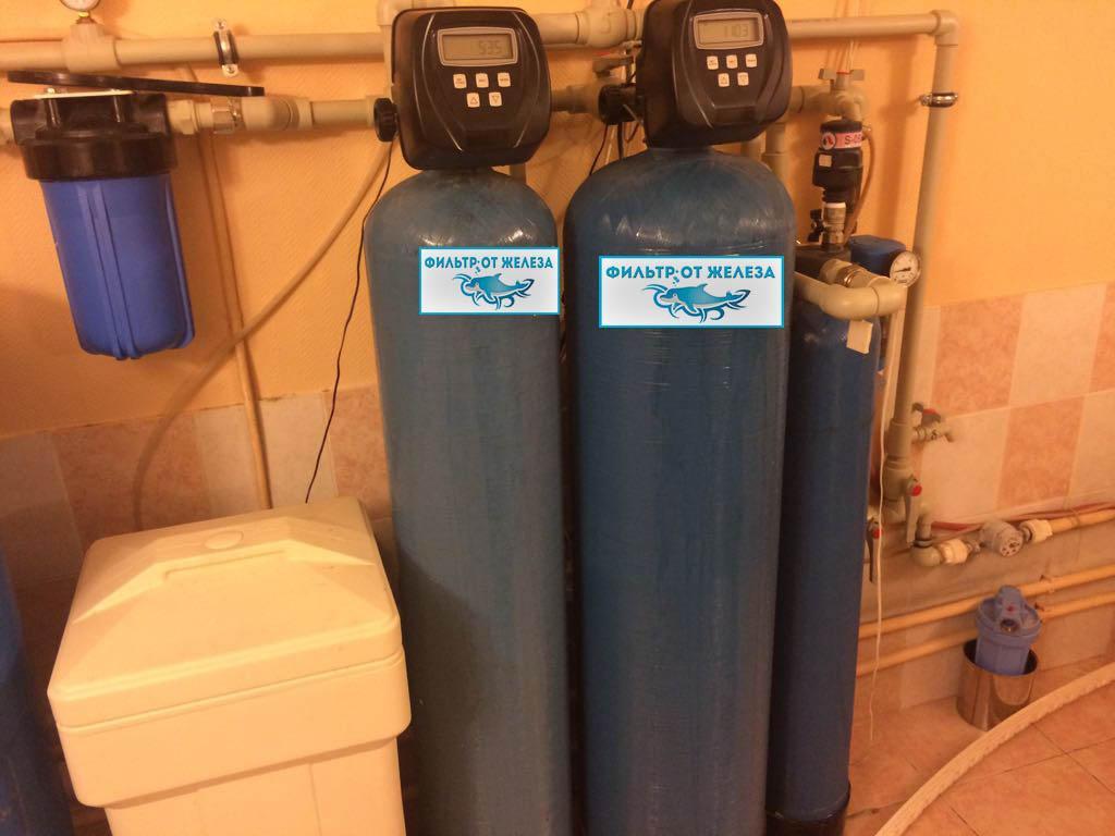 Фильтра для скважин на воду от железа своими руками 314
