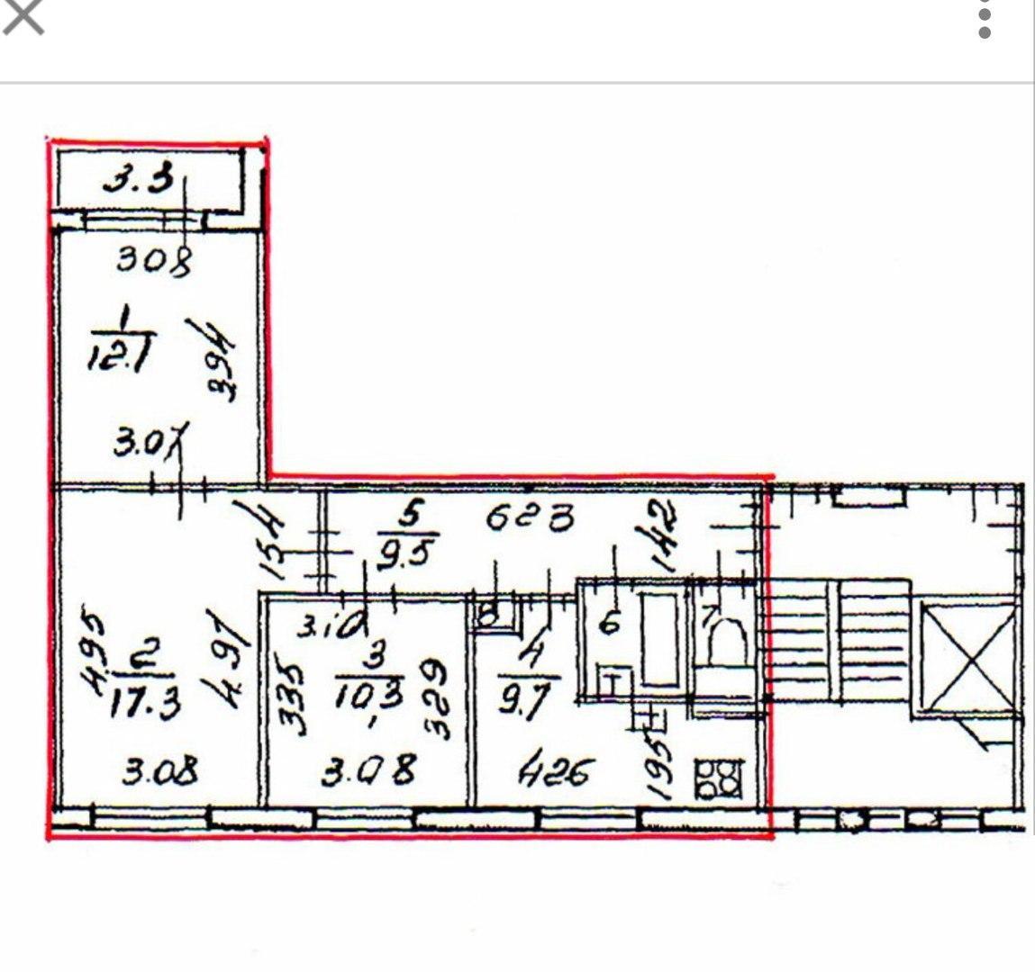 Схема проводки в доме 504 серии