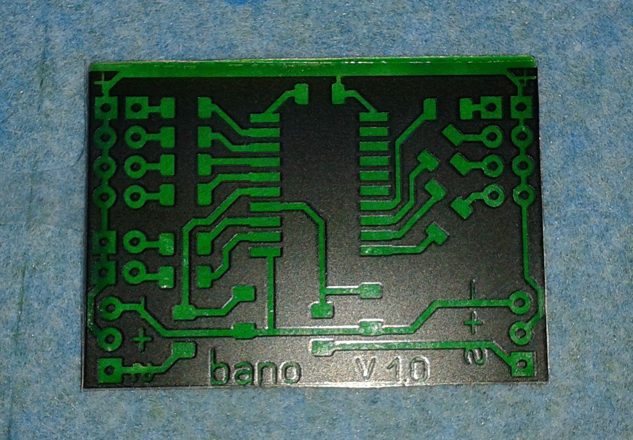 Изготовление печатных плат при помощи паяльной маски FSR8000