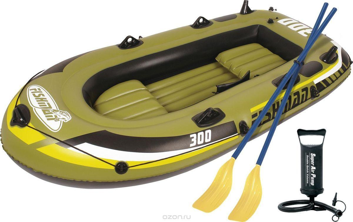лучшая надувная лодка на веслах