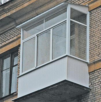 Остекление и ремонт балконов и лоджий..
