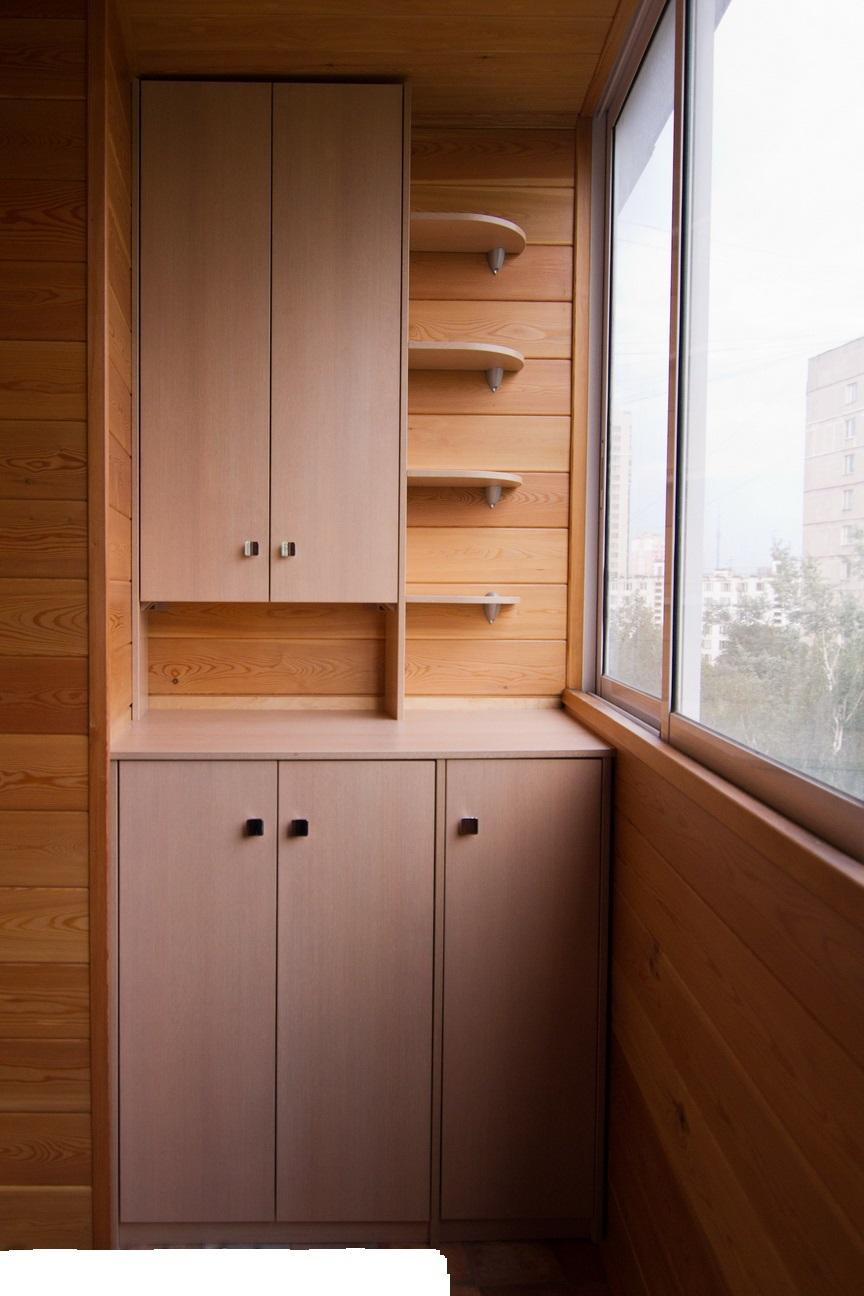 Купить шкаф на балкон недорого в москве на заказ.
