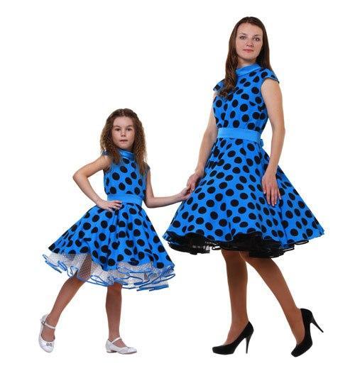 Одинаковые платья на выпускной для мамы и дочки
