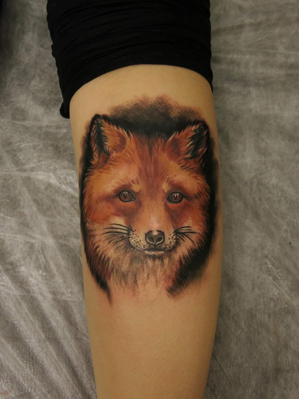 Значение тату лиса - Татуировки и их значение 87