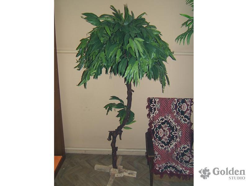 Как сделать большое искусственное дерево своими руками фото 97