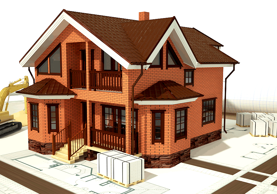 Дом из кирпича в Иваново - СтройИнвестПерспектива