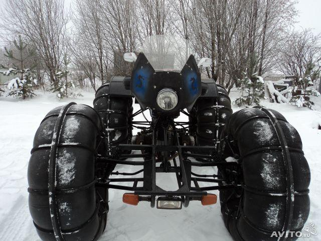 Вездеход-снегоход из мотоблока своими руками 14