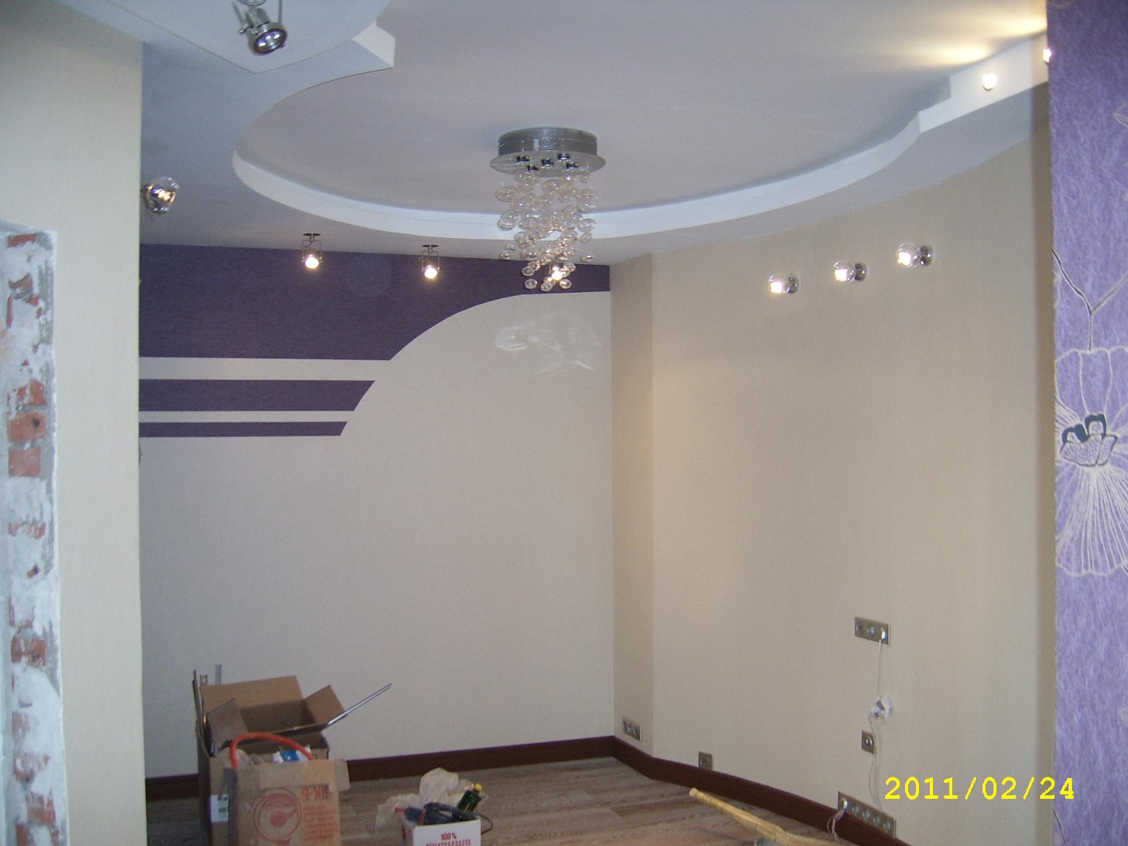 Дизайн зала 121 серии фото