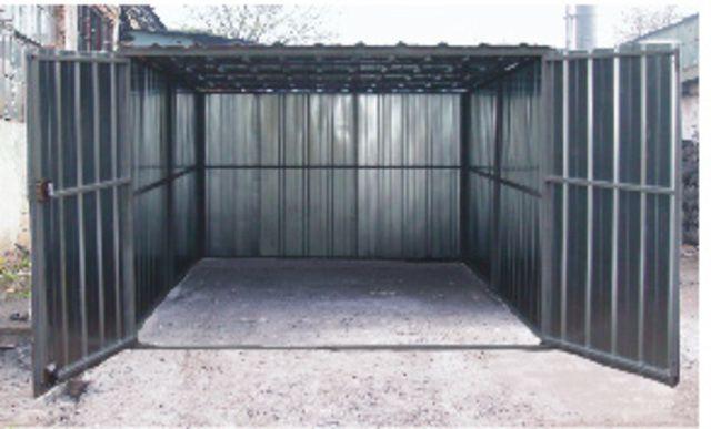Разборной металлический гараж своими руками