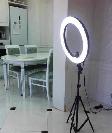 Кольцевая лампа для визажиста самара