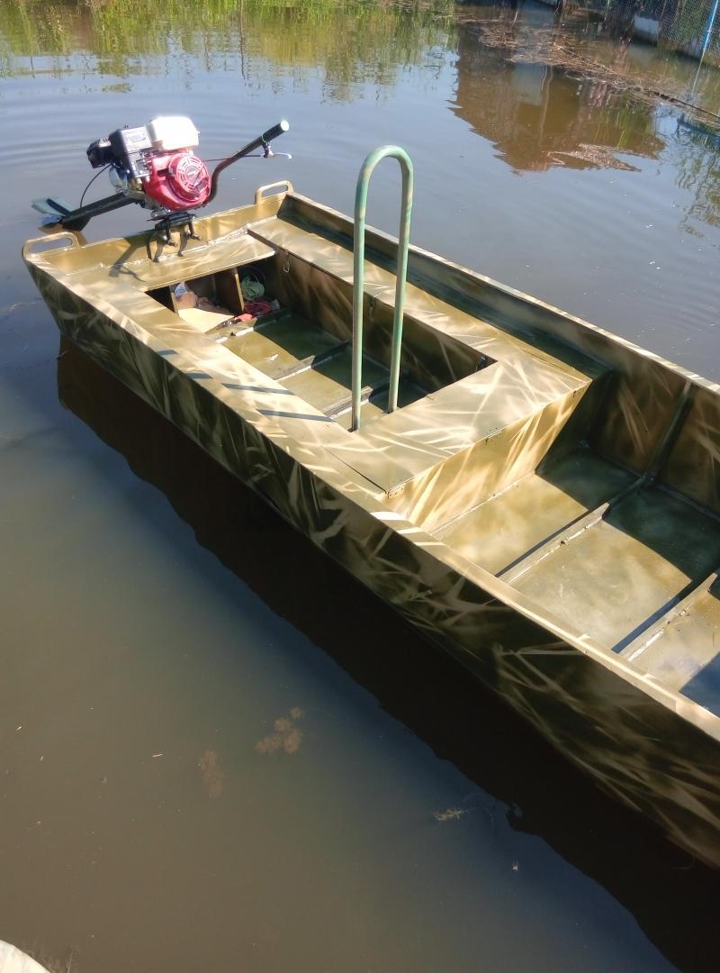 лодка для мотора болотоход