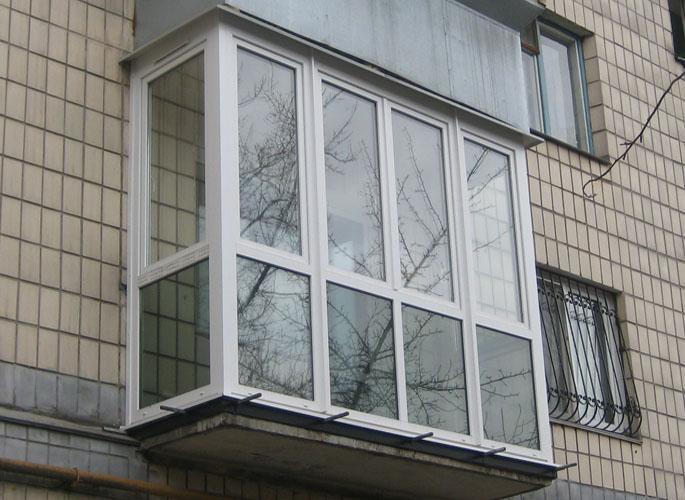 Остекление балконов и лоджий.