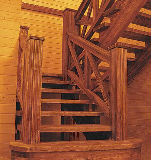 Лестница стар своими руками