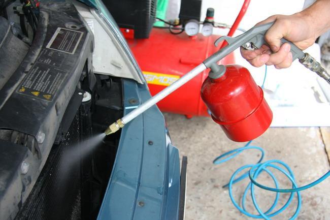 Мойка радиатора автомобиля своими руками 76