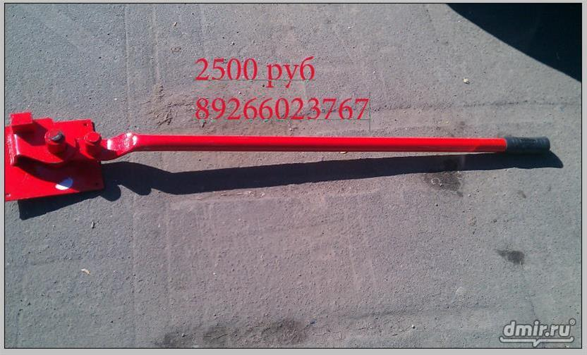 Ручной станок для гибки арматуры dr-12.