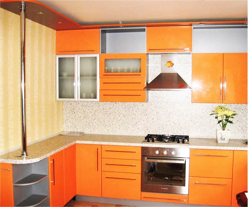 Дизайн ремонт своими руками кухни 54