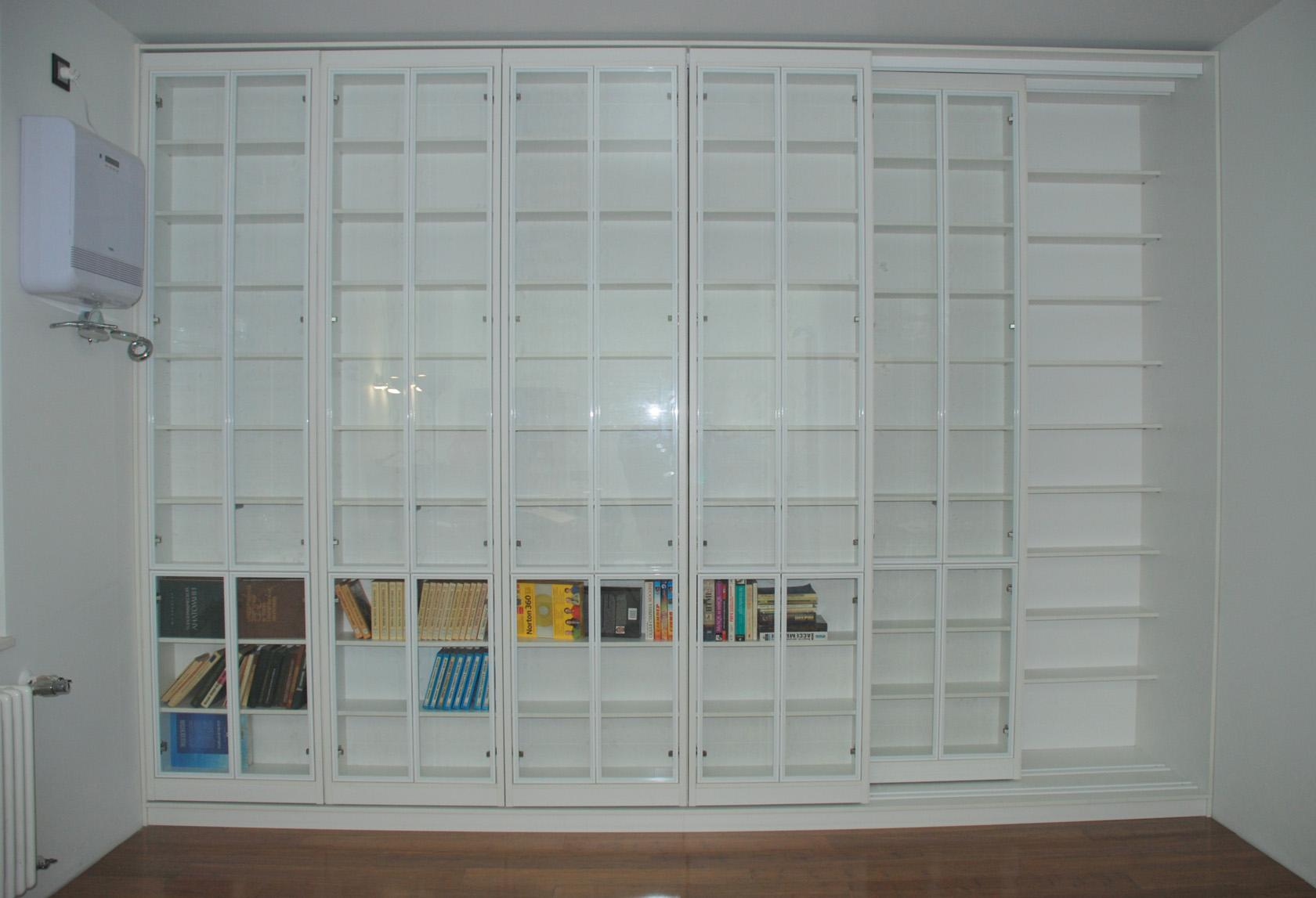 Библиотека раздвижная новая. размеры: в в москве.