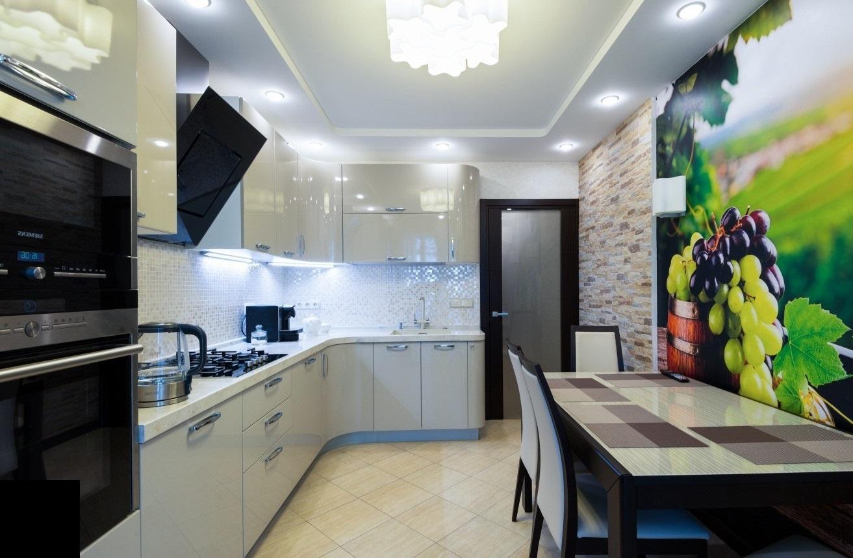Современный ремонт на кухне своими руками