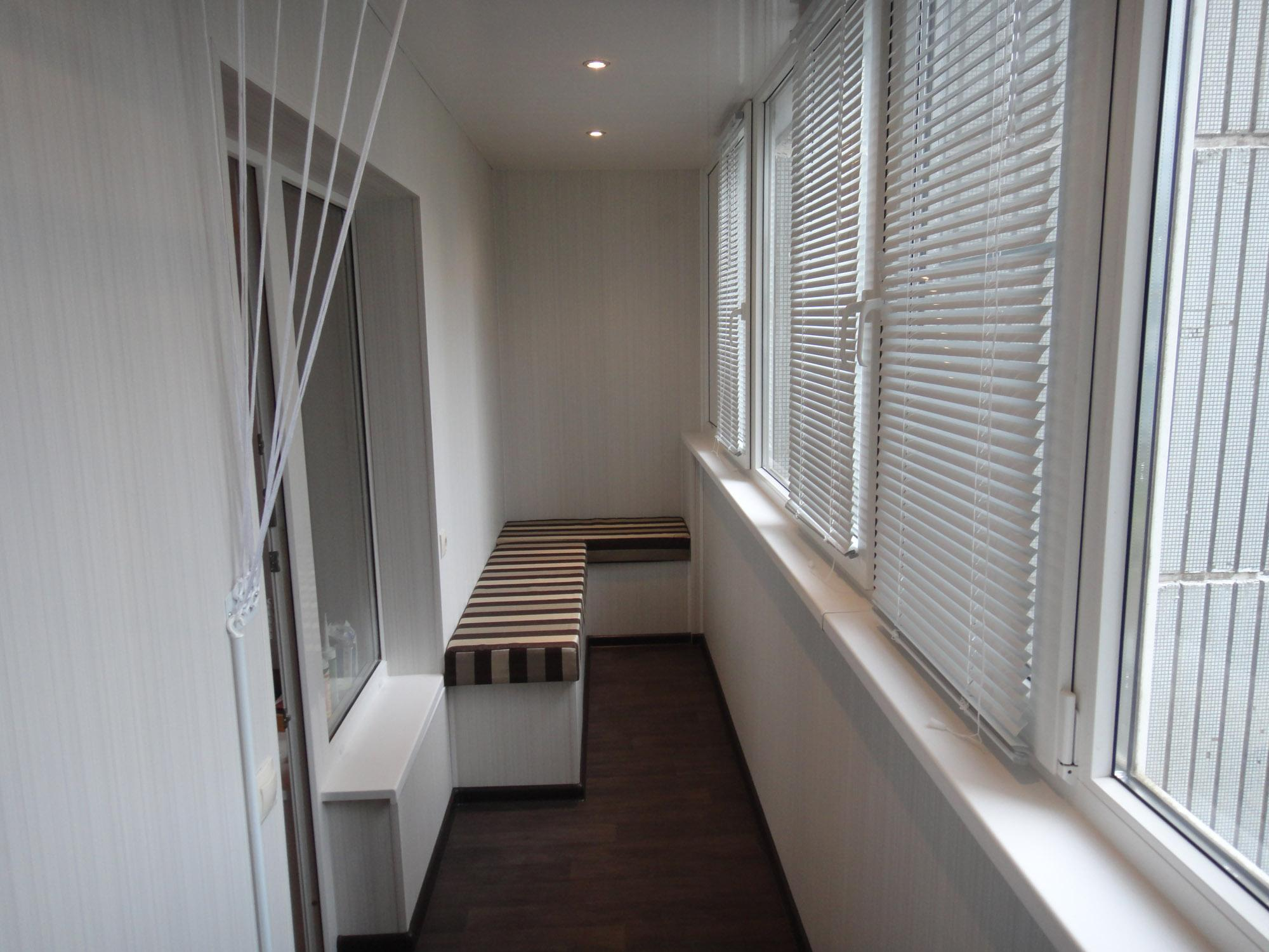 Отделка балконов и лоджий в тюмени - балкон-комплекс.
