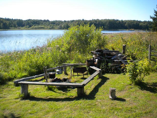 рыбацкие домики в карелии на берегу озера