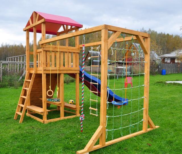 Детские игровой комплекс для дачи своими руками