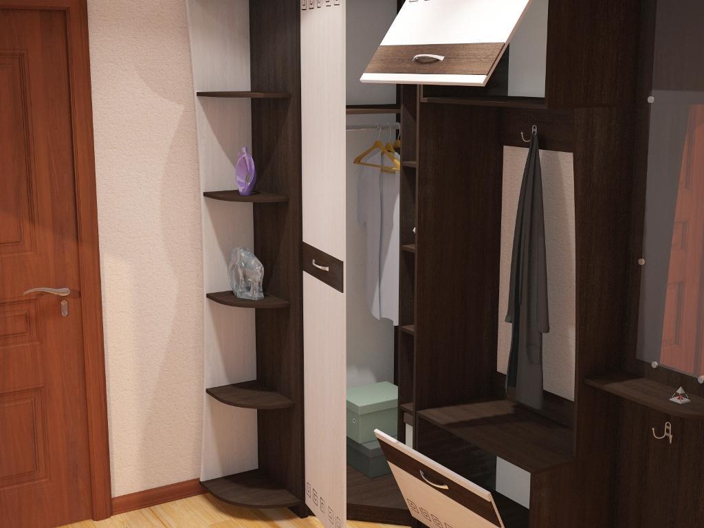 """Набор мебели для прихожей """"калипсо"""" , фото. цена - 13510.00 ."""