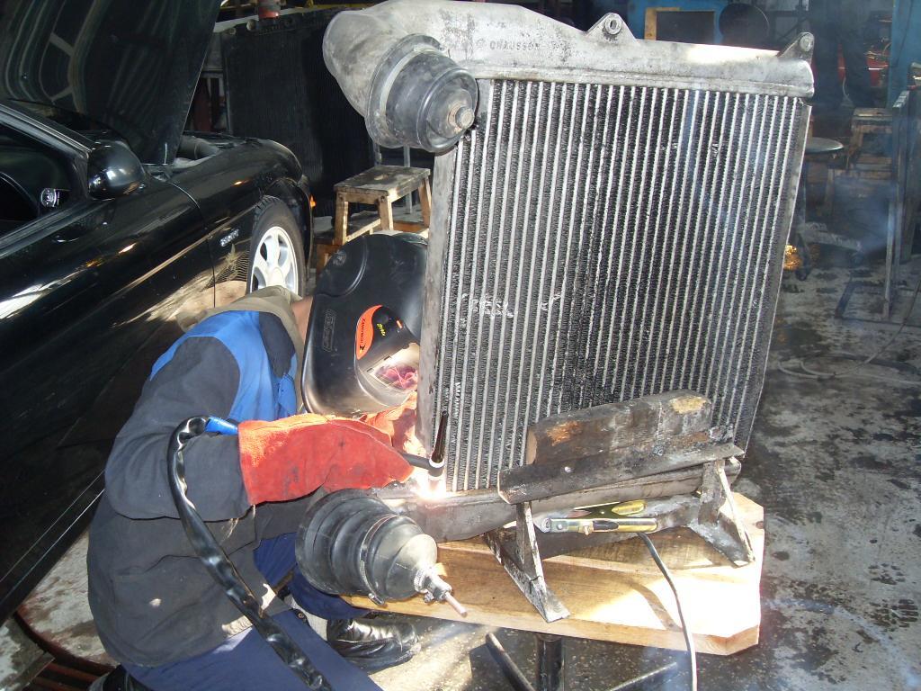 Ремонт радиаторов автомобиля своими руками
