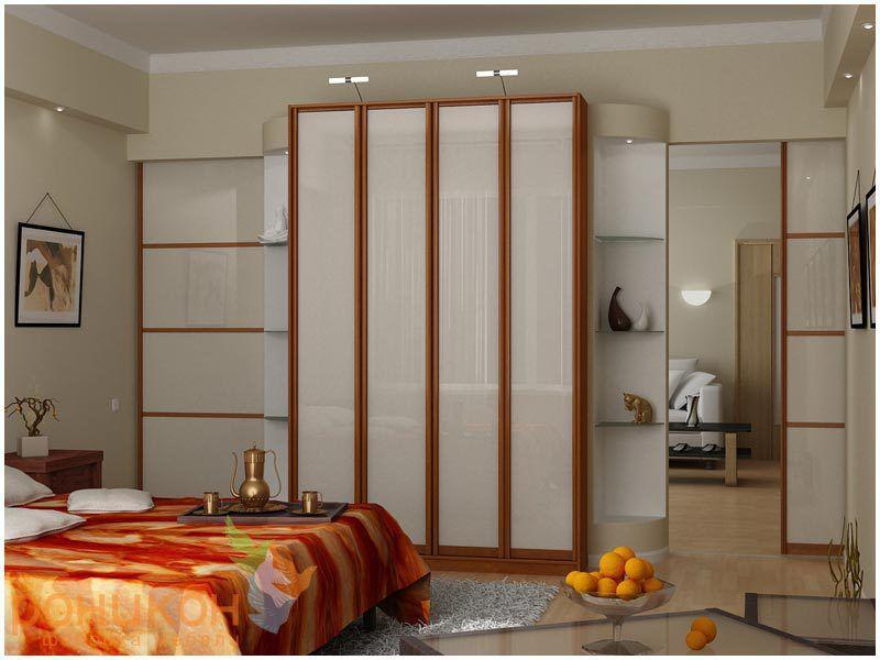 Шкафы-купе в спальню под заказ в Минске, производство шкафов-купе для спальни