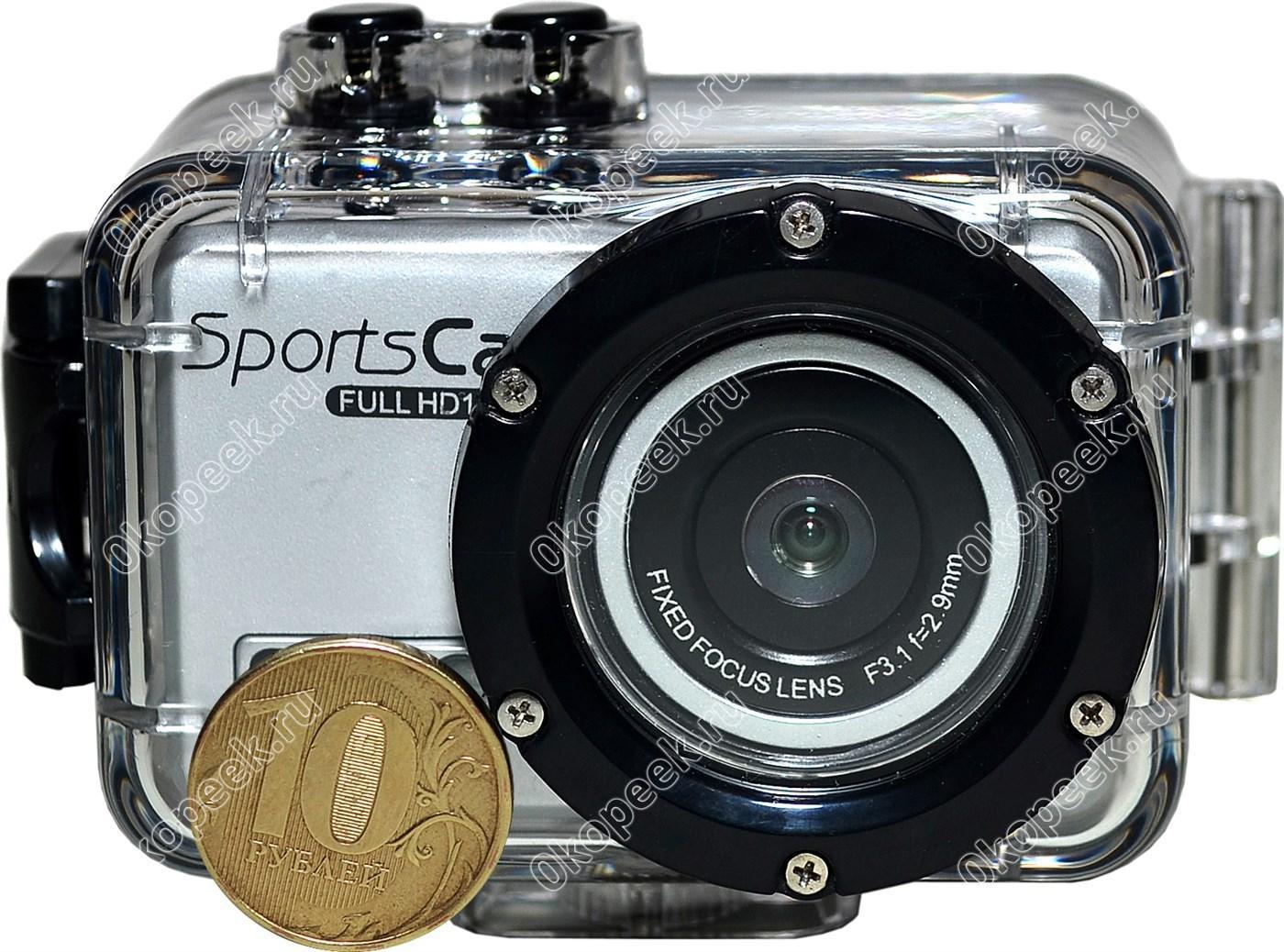 экшн камера какую выбрать для подводной съемки Высоцкий монастырь