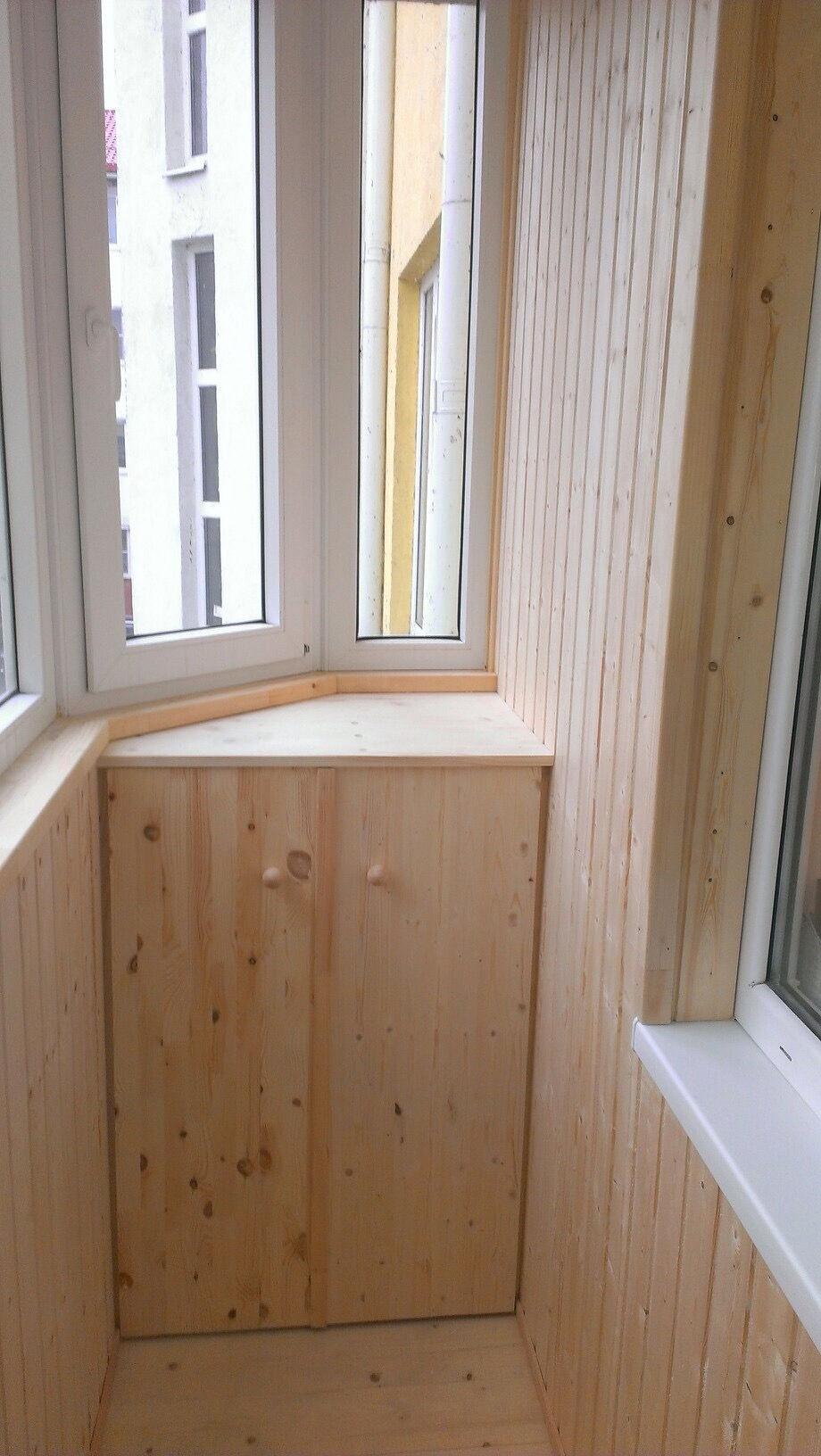 Отделка балконов и лоджий в спб.