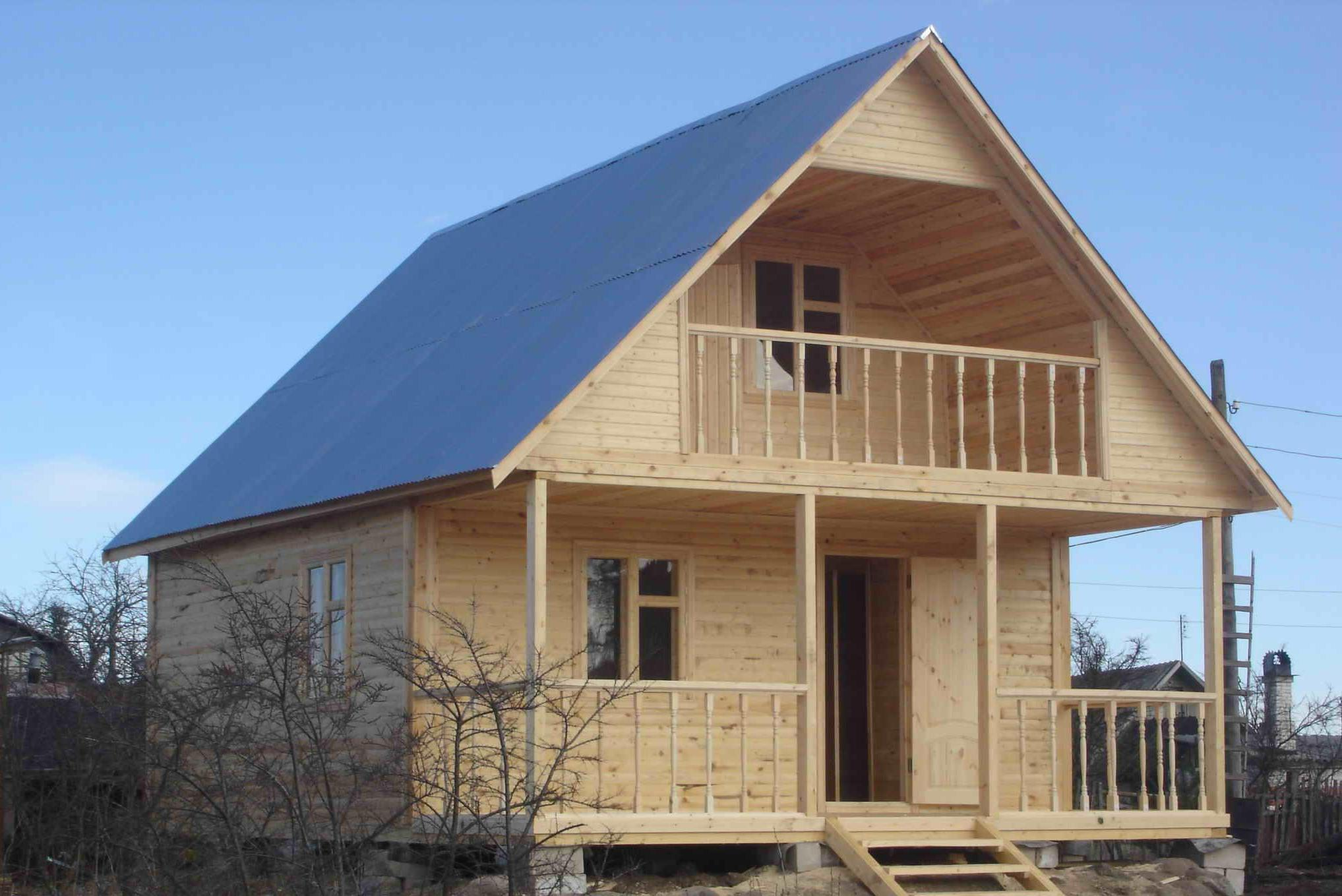 Проекты дачных домов с ценами и условиями покупки, каркасные.