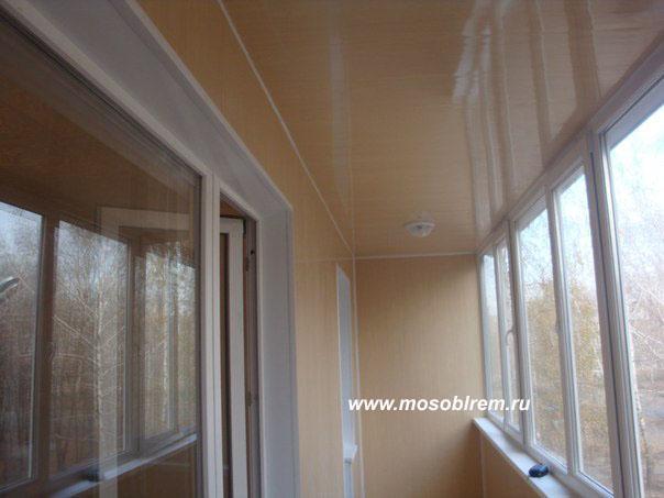 Обшивка балконов и лоджий,утепление.