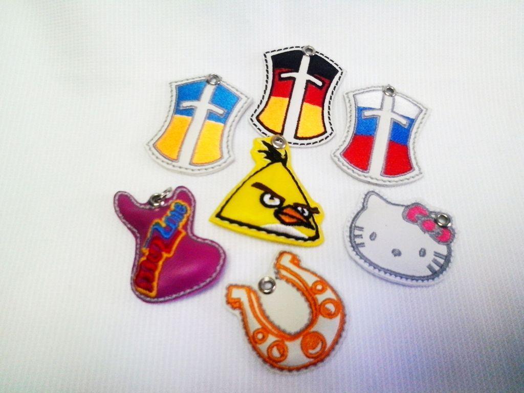 Изготовление логотипов вышивка