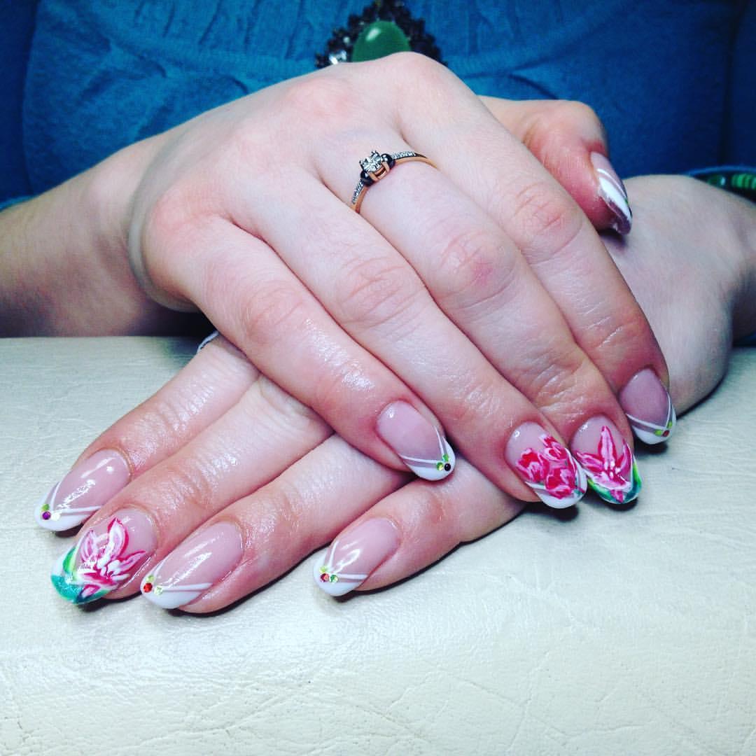 Фото дизайна ногтей гель акрил