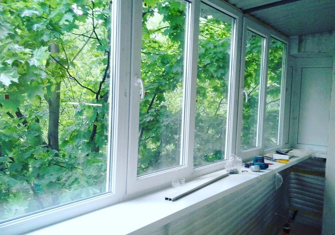 Остекление балконов и лоджий - ремонт, строительство.