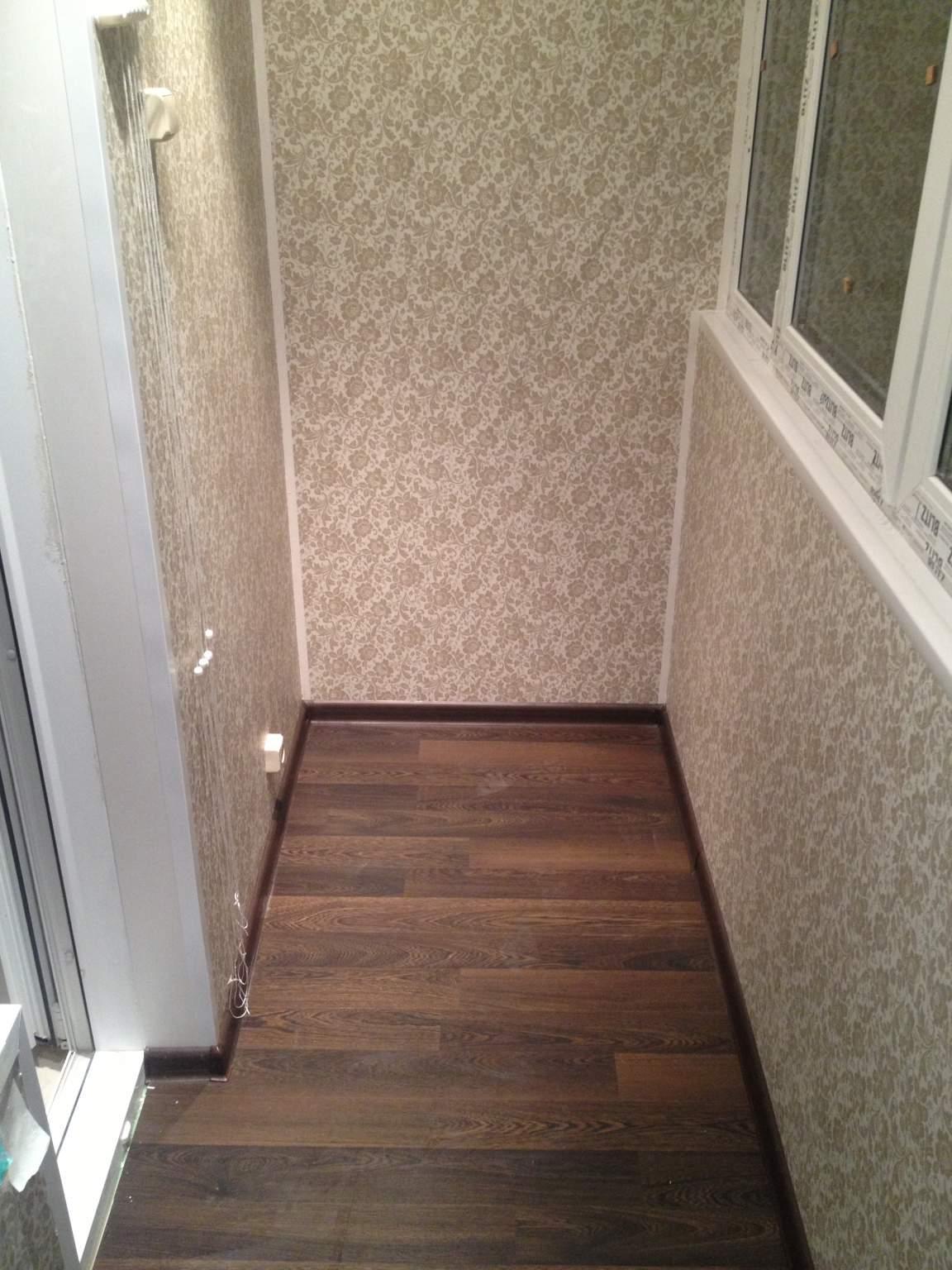 Комплексная отделка балконов и лоджий, остекление - 15000 р.