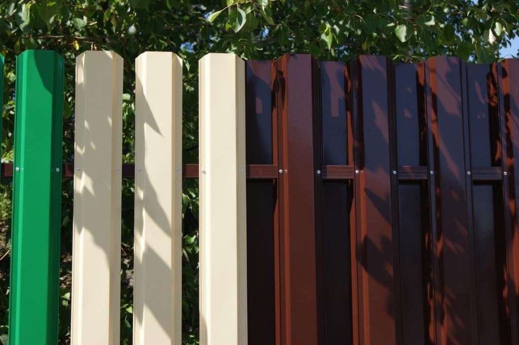 Купить металлический штакетник в спб металлическая ворота на дачу