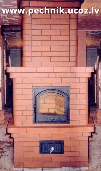 Печка своими руками с стеклянной дверью 55