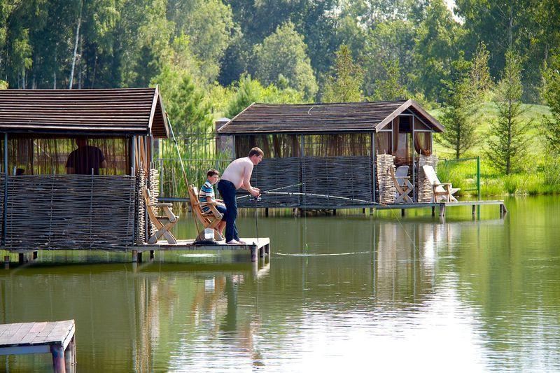 Домик с рыбалкой в белоруссии